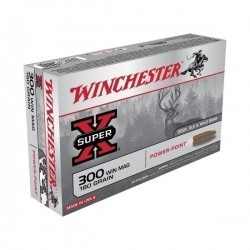 WINCHESTER 300WM POWER POINT 180GR
