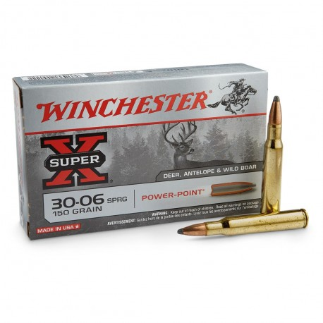WINCHESTER 30-06 POWER POINT 180GR