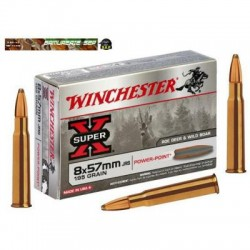 WINCHESTER 8x57 JRS POWER POINT 195GR