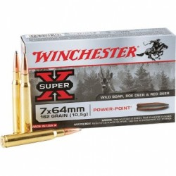 WINCHESTER 7x64 POWER POINT 162GR