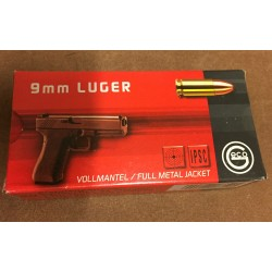 GECO CALIBRE 9MM 8GR 124 GR FMJ