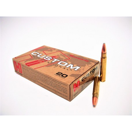 HORNADY 9.3x62 18.5G/286GR INTERLOCK SP