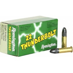REMINGTON THUNDERBOLT CALIBRE 22LR 40GR-310M/S