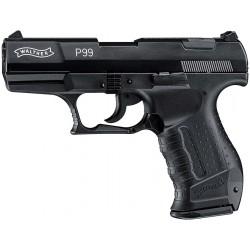Pistolet à blanc ou gaz P99 - WALTHER - Bronzé