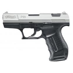 Pistolet à blanc ou gaz P99 - WALTHER - Bicolor