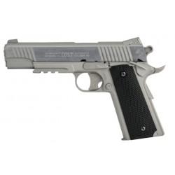 1911 RAIL GUN STAINLESS - COLT