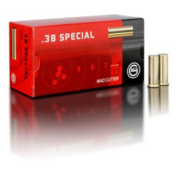GECO 38 SPECIAL WAD CUTTER 148GR 9.6G