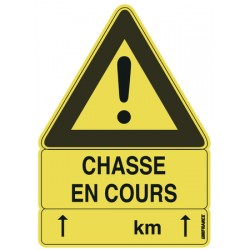 CHASSE EN COURS
