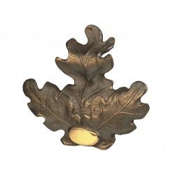 Feuille de chêne en bronze - EURO HUNT