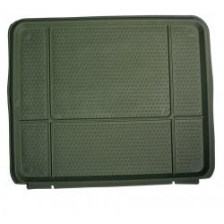 Tapis de coffre baquet 50x60 cm pour voiture