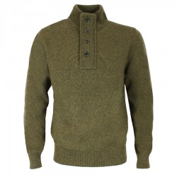 BARBOUR PULL PATCH WILLOW COLORIS OLIVE