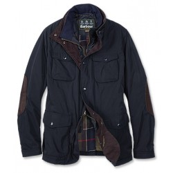 BARBOUR VESTE PARWICH NAVY
