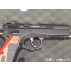 PISTOLET CZ 75 SP-01 SHADOW MAMBA ROUGE CALIBRE 9x19