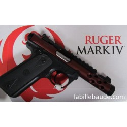 PISTOLET RUGER MARK IV 22/45 LITE CALIBRE 22 LR COLORIS ORANGE