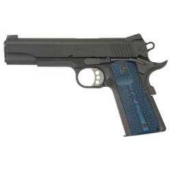 PISTOLET COLT MODÈLE GOVERNMENT COMPETITION SERIES BLEU CALIBRE 45 ACP